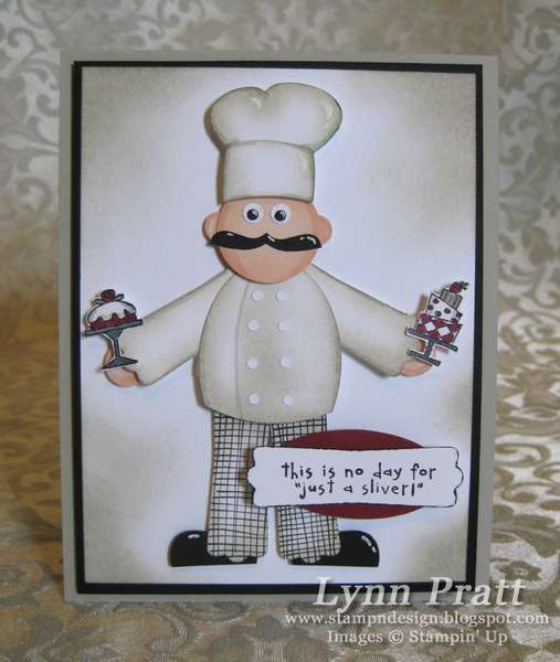 Chef/Kitchen Pop-Out Cards