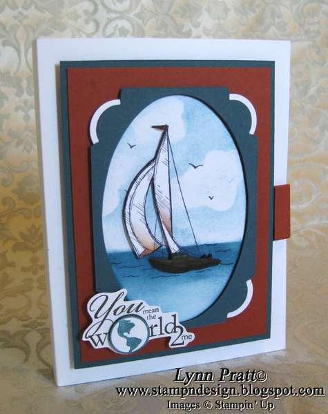 Fun Frames - Sail Away