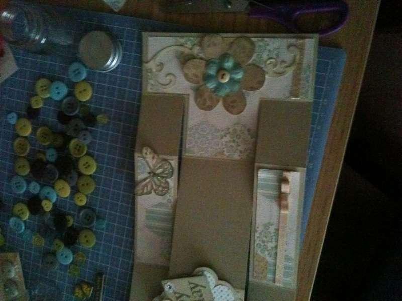 tri folding birthday card
