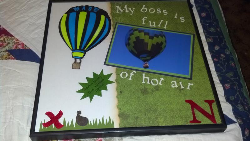 My boss is full of hot air