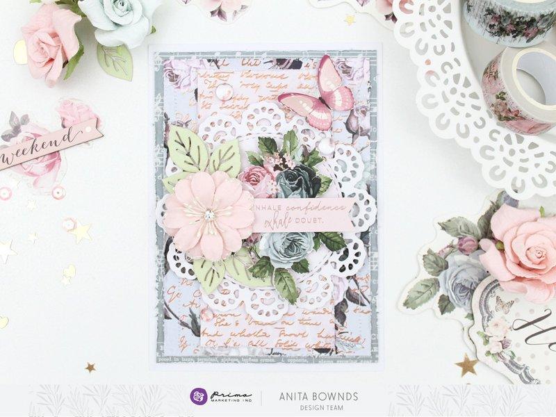 Poeitc rose card
