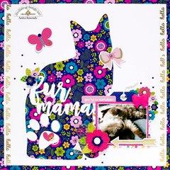 Fur mama *doodlebug design DT*