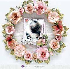 Floral wreath *prima marketing DT*
