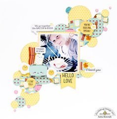 Hello love *doodlebug design DT*