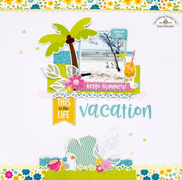Hello summer vacation *Doodlebug Design DT*