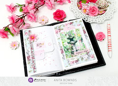 Travelers notebook spread *Prima Marketing DT*