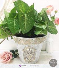 Decorated pot *prima marketing DT*