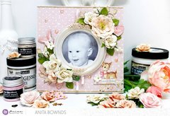 Baby girl canvas- Prima Marketing DT