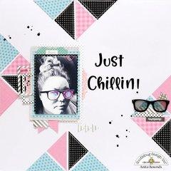 Just chillin-Doodlebug Design DT