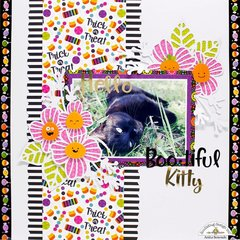 Hello bootiful kitty - Doodlebug design DT
