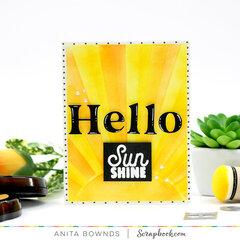 hello sun shine
