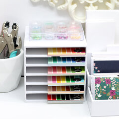 Craft Room Basics - 6x6 Paper Storage
