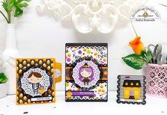 booville cards - Doodlebug design DT