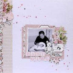 Baby Girl - Kaisercraft DT
