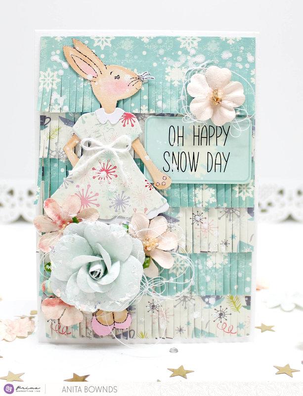 Oh happy snow day- Prima Marketing DT