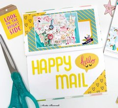 Happy mail- travelers notebook spread
