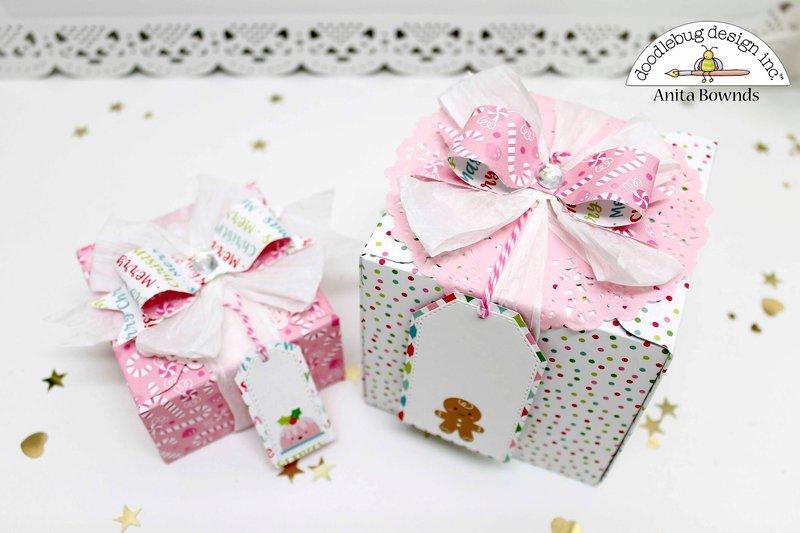 Gift boxes- Doodlebug design DT