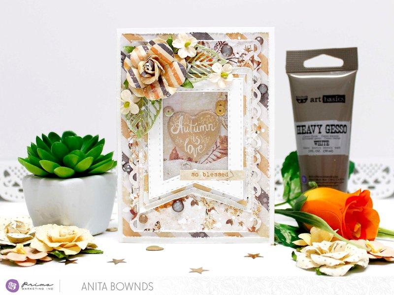 Shaker card - Prima Marketing DT