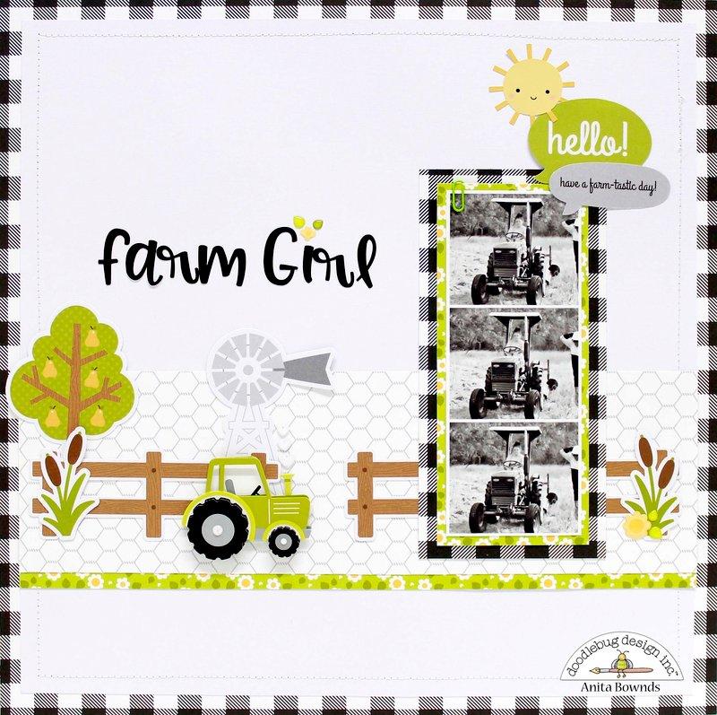 Farm girl *Doodlebug Design DT*