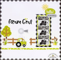 Farm girl *Doodlebug Design DT*
