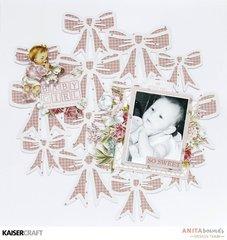 Baby girl so sweet *Kaisercraft DT *