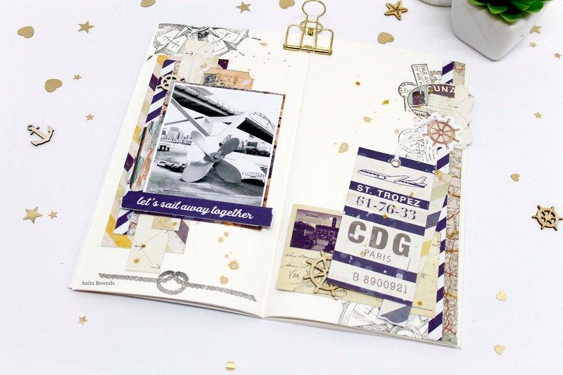 Travellers journal notebook - prima