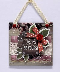 may all the joys of the season be yours mini canvas