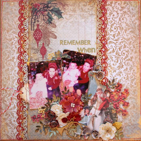 Remember When~~ScrapThat! December Kit~~