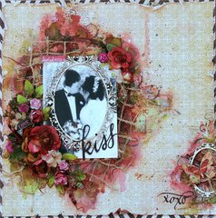 Sealed With a Kiss~Scraps of Elagance~