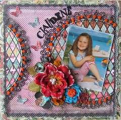 Claudine~~Paper Niche September Kit~~