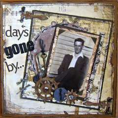 Days gone by...~Paper Niche October Kit~~