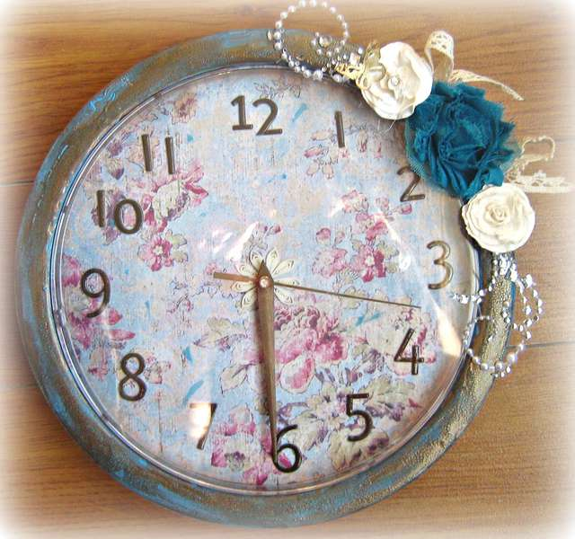 Altered Clock~~October Paper Niche Kit~~