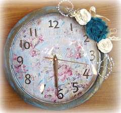 Altered Clock~~October Paper Niche Kit~~