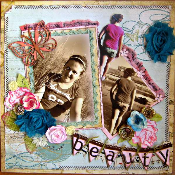Beauty~~Paper Niche October Kit~~