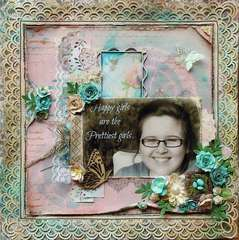 Happy Girls~~ScrapThat! August Kit~~