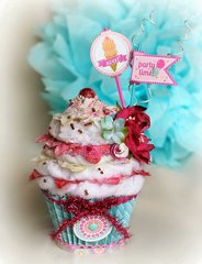 Party Time Cupcake~~Petaloo~~