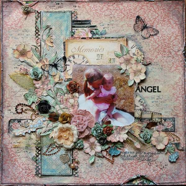 ScrapThat! September Kit~~Memories of An Angel