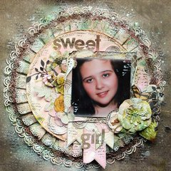 Sweet Girl~~Scraps of Elegance~~