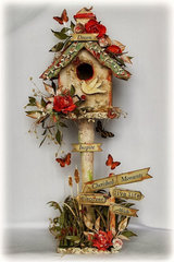 Altered Birdhouse ~~Scrapmatts~~