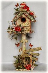 Altered Birdhouse ~~Scrapmatts~~