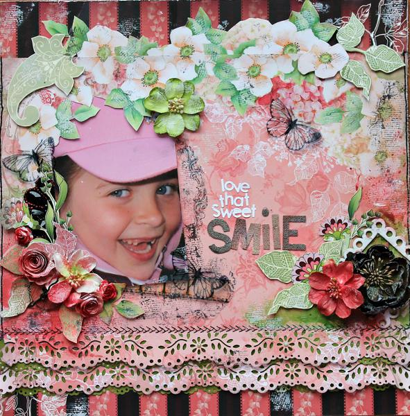 Love That Sweet Smile~~ScrapThat! March kit~~