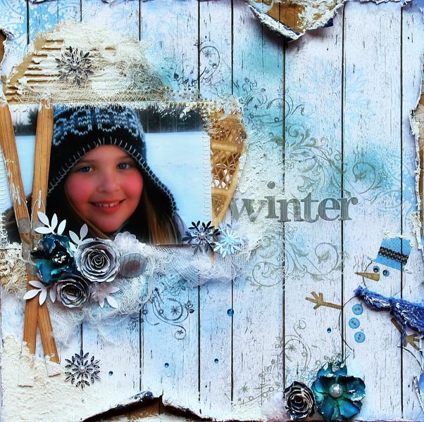 Winter~~ScrapThat! January Kit~~