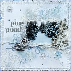 Pine Pond~~ScrapThat! January Kit~~