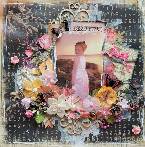 Beautiful~~ScrapThat! February Kit & FWAB~~