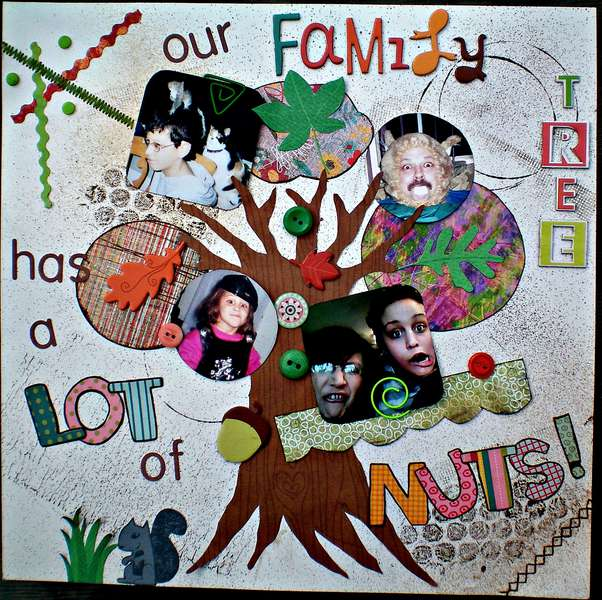 our Family Tree has a Lot of Nuts!
