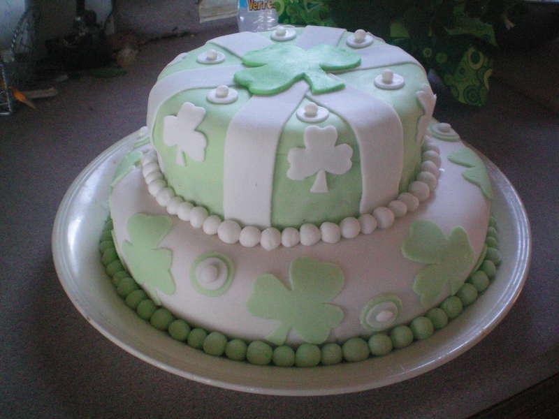 St Paddy's Day birthday cake