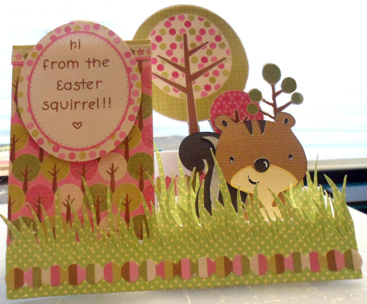 Easter squirrel!