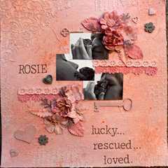 Rosie: lucky...rescued...loved.