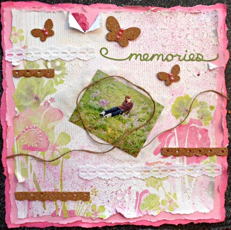 memories/lupine field