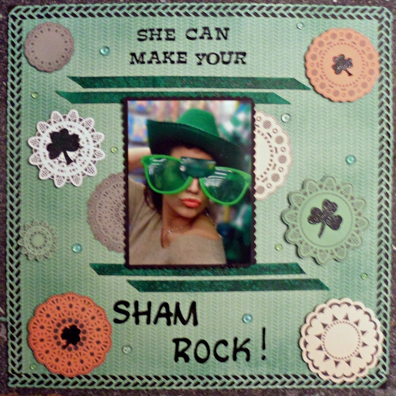 She can make your sham rock!!